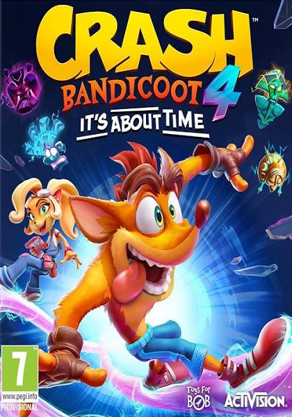 دانلود بازی Crash Bandicoot 4 Its About Time برای کامپیوتر