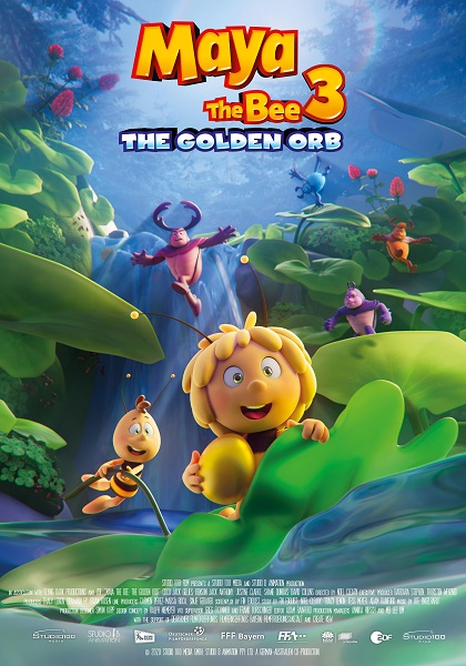 دانلود انیمیشن Maya the Bee 3: The Golden Orb 2021