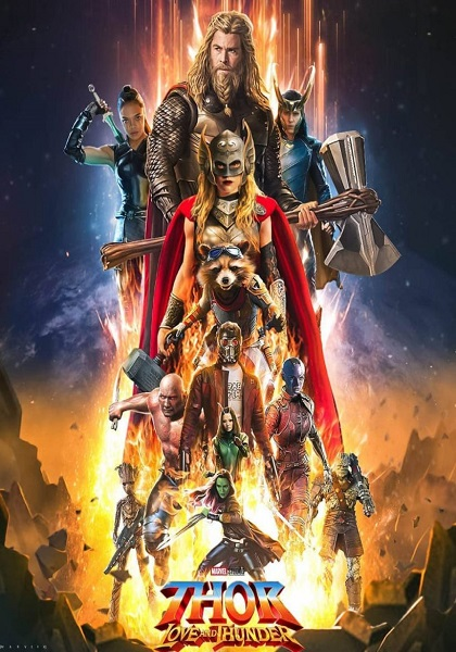 دانلود فیلم Thor: Love and Thunder 2022